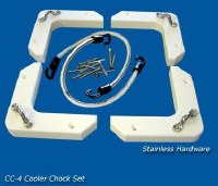 DEEP BLUE COOLER CHOCK SET