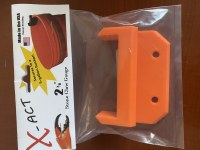 X-ACT RECREATIONAL BUCKET STONE CRAB MEASURING TOOL ORANGE