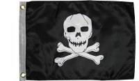 TAYLOR FLAG JOLLY ROGER