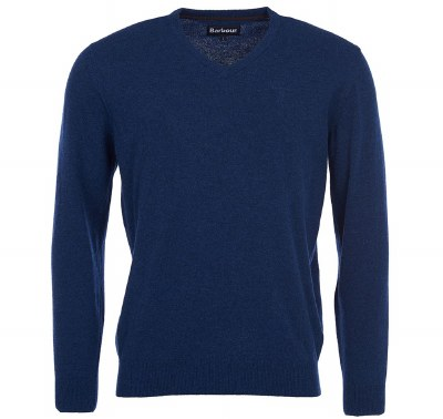 Barbour Essential Lambswool V Neck Sweater