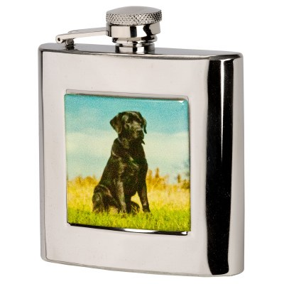 Bisley Labrador Hip Flask