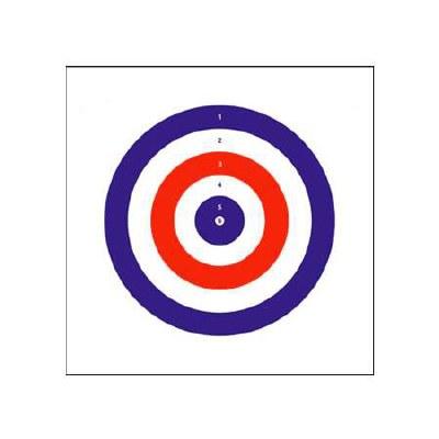 Bisley Coloured Targets 25pk