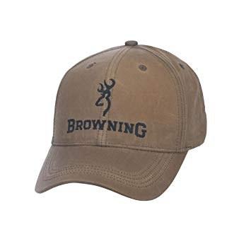 Browning Lite Wax Khaki Cap