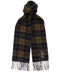 Barbour Lambswool Scarf Forest