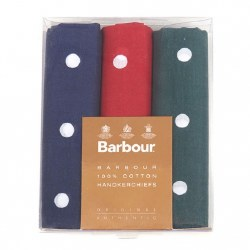 Barbour Polka Dot Hankerchiefs
