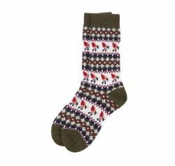 Barbour Robin Fairisle Sock