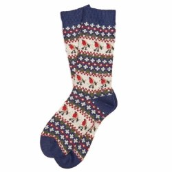 Barbour Robin Fairisle Sock
