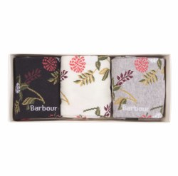 Barbour Floral Sock Gift Box