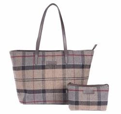 Barbour Witford Tartan Tote Bag