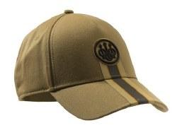 Beretta Corporate Stripe Cap Tan