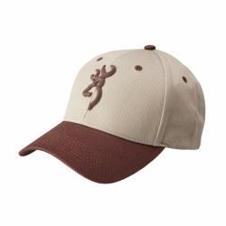 Browning Molded Buck Cap Beige