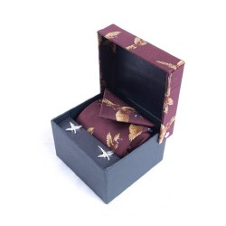 Derek Lee Gunsmiths Country Tie and Cufflink Set