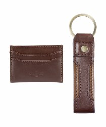 Le Chameau Keyring and Card Wallet Gift Set