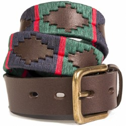 Pioneros Polo Belt Navy/Green/Red