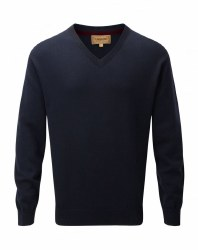 Schoffel Cotton V Neck Jumper