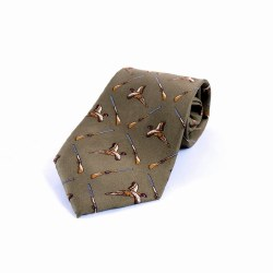 Derek Lee Gunsmiths Silk Tie