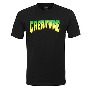 Creature Logo T-Shirt Black M