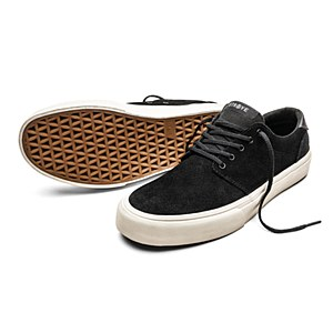 Straye Footwear Fairfax Black/Bone Suede UK 9