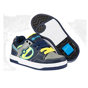 Heelys Flow Navy Yellow Grey UKY12
