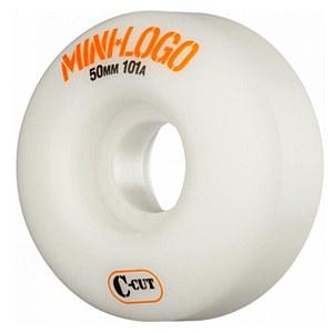 Mini Logo C-Cut 101a 50mm White