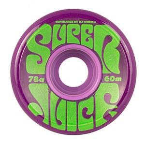 OJ Super Juice Trans Purple 60mm 78a