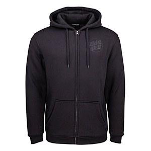 Santa Cruz Blackout Zip Hood Large
