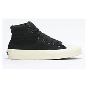 Straye Footwear Venice Black/Bone Canvas UK 9
