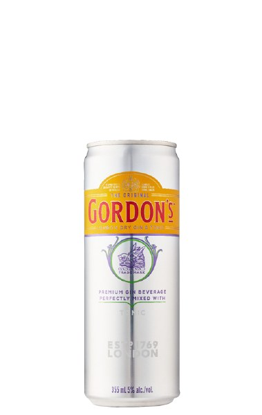 Gordon's Gin and Tonic