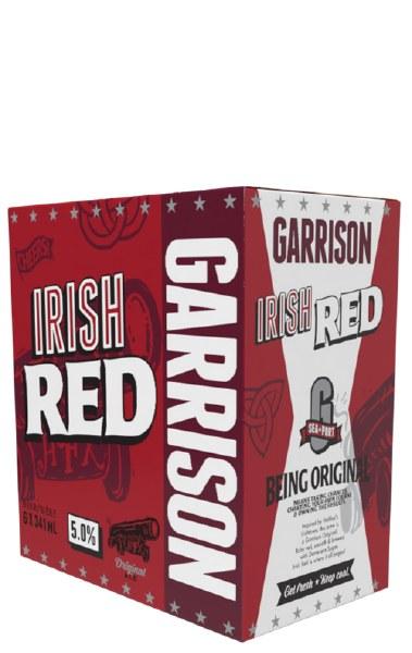 Garrison Irish Red Ale 6x341ml