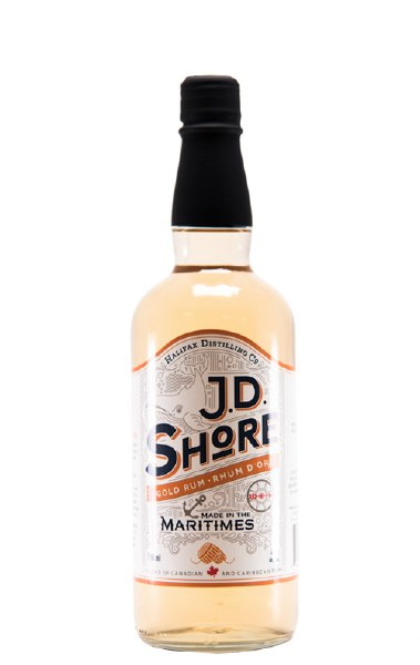 JD Shore Gold Rum 750ml