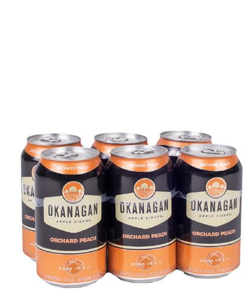 Okanagan Peach Cider 6x355ml