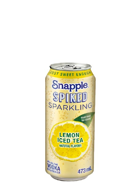 Snapple Sparkling Lemon Tea