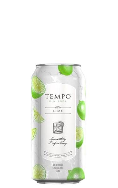 Tempo Gin Soda Lime
