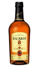 Bacardi 8 YO Amber Rum