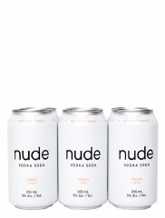 Nude Vodka Soda Peach 6 Pack