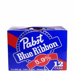 Pabst Blue Ribbon 5.9 12pk