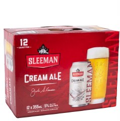 Sleeman Cream Ale 12pk Cans