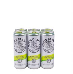 White Claw Natural Lime 6pk