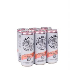 White Claw Ruby Grapefruit 6pk