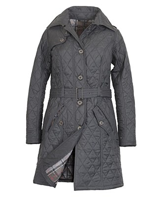 Barbour Ennerdale Trench Quilted Ladies Jacket