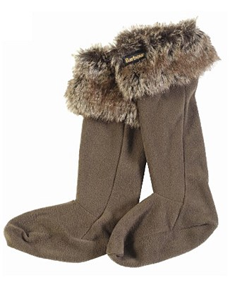 Barbour Fur Boot Liners