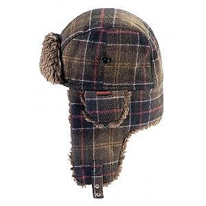 Barbour Tartan Hunter Hat L