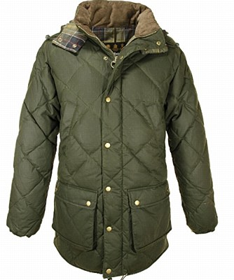 Barbour Wax Feather Jacket