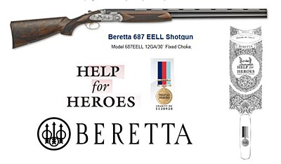 "Beretta EELL 30"" Limited Edition  Help for Heroes"