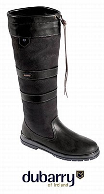 Dubarry Galway Black & Black Boots