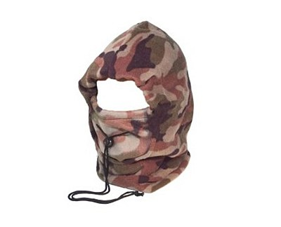Fleece Camouflage Snood