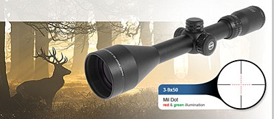 Hawke Sport-HD 3-9x50 IR Scope