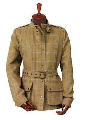 Laksen Ladies Tweed Trackmaster Jacket