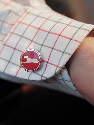Laksen Dog Cufflinks