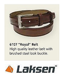 Laksen Royal Leather Belt